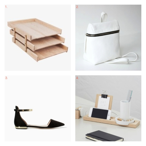 MARCH/WISHLIST black and white picks