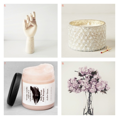 MARCH/WISHLIST rose and white picks